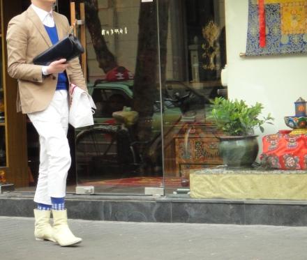 Shanghais sock!