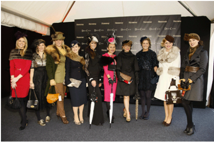 the 10 best dressed finallist @ The Hennessy Gold Cup 2012